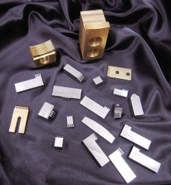 Meaden Precision Collator Items, Crimps, Crimplocks